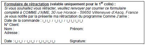 formulaire retractation suisse